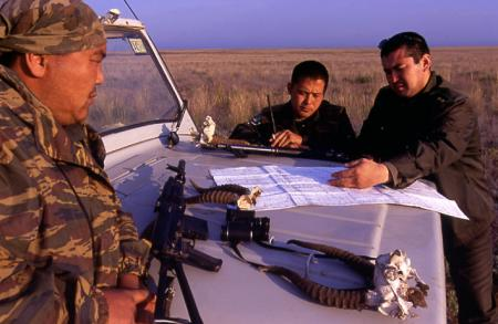 Anti-Poaching Rangers Field Briefing
