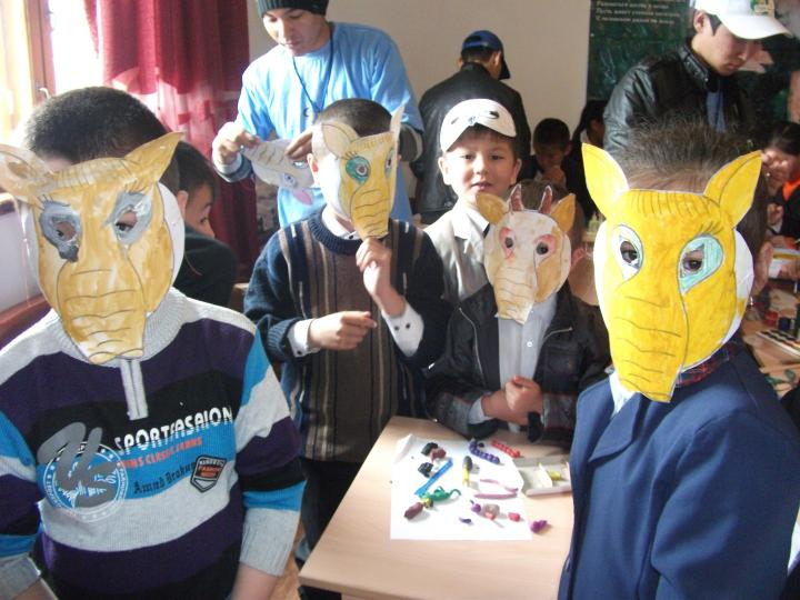 Saiga Day Masks