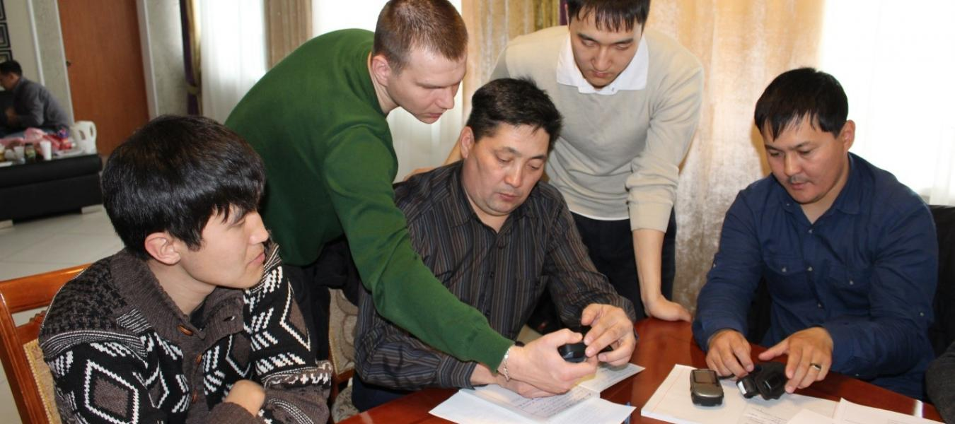 A specialist team formed in Kazakhstan to study and conserve the Ustyurt saiga